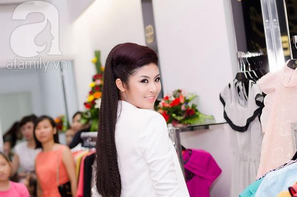 Hoa hậu Ngọc Hân xinh đẹp lạnh lùng 3