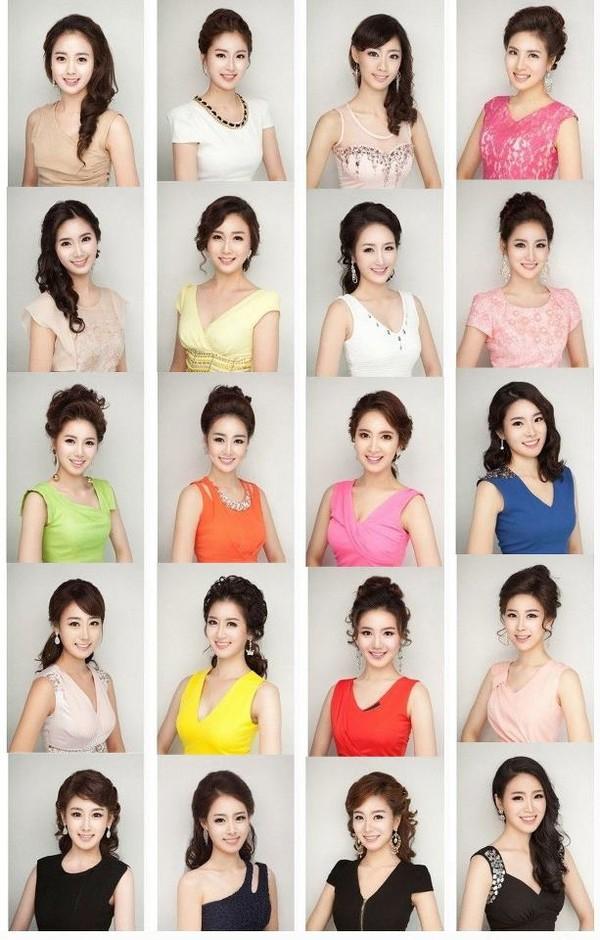 Sự thật về những khuôn mặt giống hệt nhau của Miss Korea
