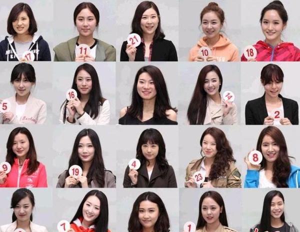 Sự thật về những khuôn mặt giống hệt nhau của Miss Korea 1