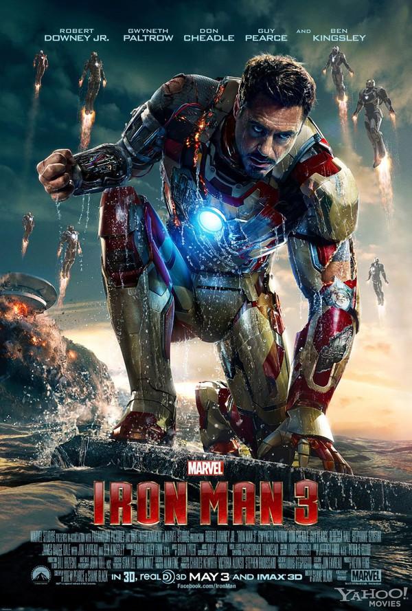 """""""Iron Man 3"""": Câu chuyện đằng sau bộ giáp sắt... 1"""