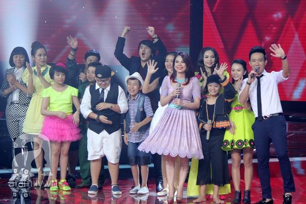 """The Voice Kids Liveshow 1: Nguyễn Quang Anh """"lên đồng"""" với """"Chiếc khăn Piêu"""" 1"""
