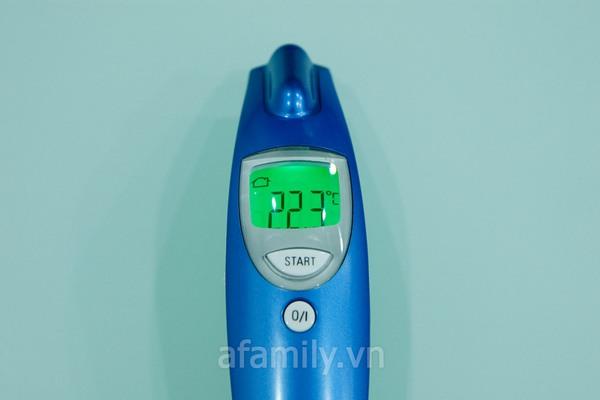Nhiệt kế đo trán Microlife đo được cả nhiệt độ cơ thể và vật thể 7