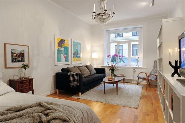 Tư vấn cải tạo căn hộ chung cư 28 mét vuông cho vợ chồng trẻ 5