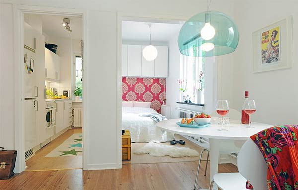 Tư vấn cải tạo căn hộ chung cư 28 mét vuông cho vợ chồng trẻ 4