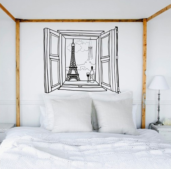 Trang trí nhà với những mẫu đề can dán tường tuyệt đẹp 6