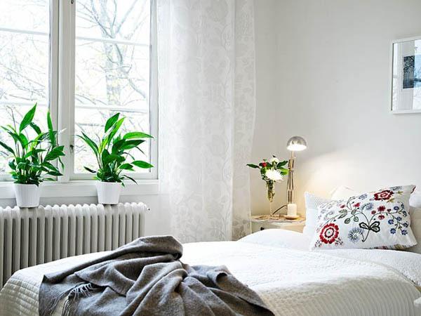 Ấn tượng với cách bài trí độc đáo của căn hộ 40 mét vuông màu trắng 9