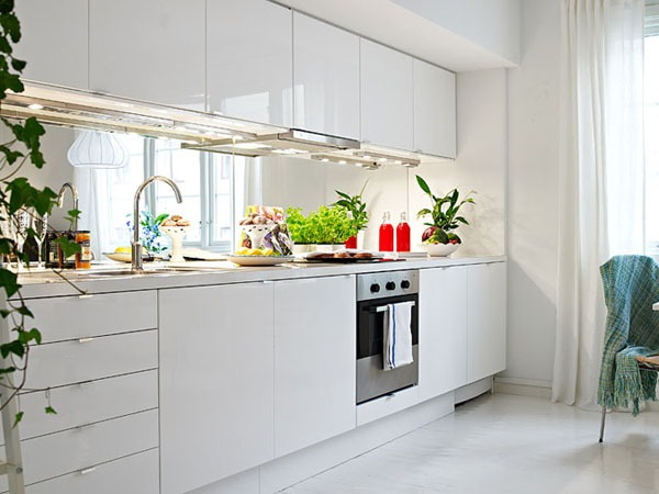 Ấn tượng với cách bài trí độc đáo của căn hộ 40 mét vuông màu trắng 7