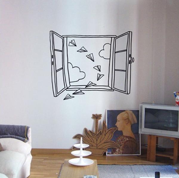 Trang trí nhà với những mẫu đề can dán tường tuyệt đẹp 4