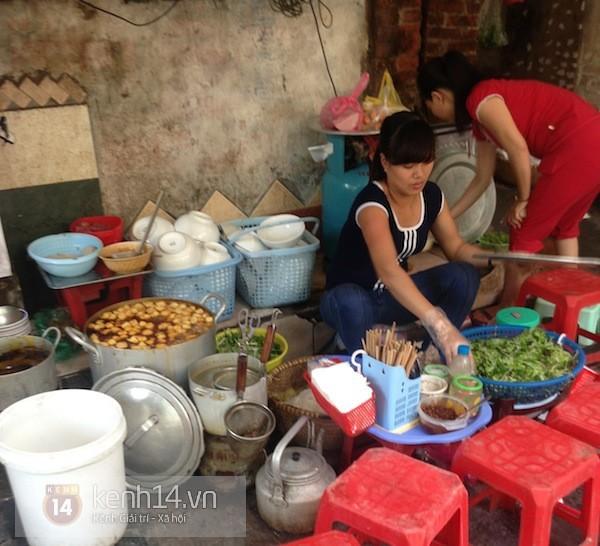 Những quán bún riêu cua vỉa hè siêu ngon tại Hà Nội 6