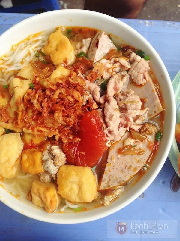 Những quán bún riêu cua vỉa hè siêu ngon tại Hà Nội 7