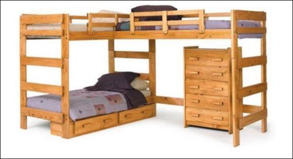 Những mẫu giường ngủ tuyệt hảo cho phòng bé 9