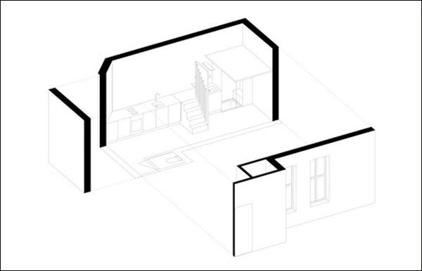 Căn hộ 20m² tuyệt đẹp nhờ phong cách tối giản 1