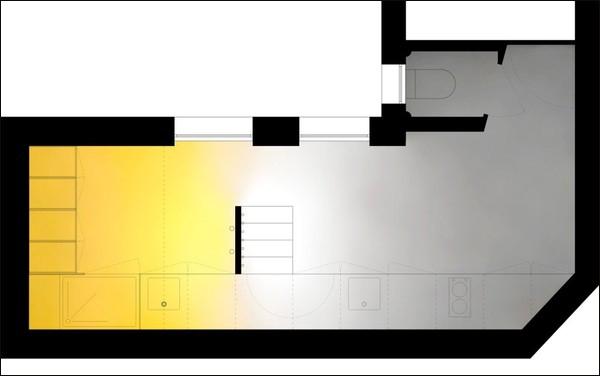Căn hộ 20m² tuyệt đẹp nhờ phong cách tối giản 10