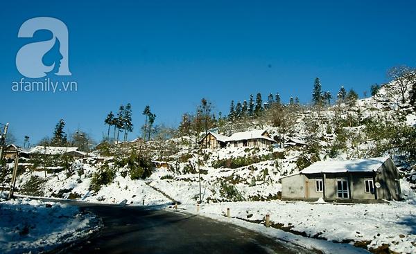 Sapa đẹp lạ thường trong tuyết trắng