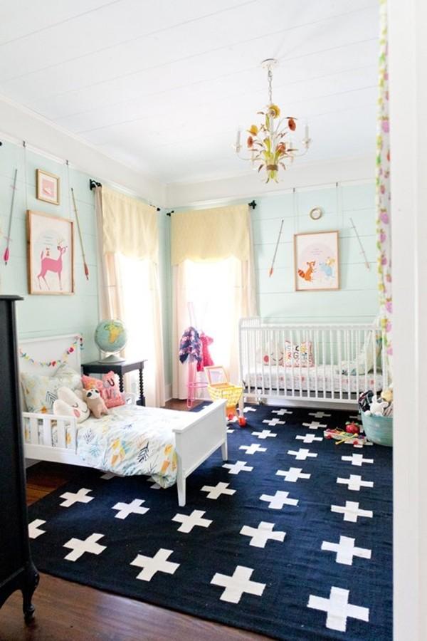 """Ngắm phòng ngủ tuyệt đẹp của 2 """"nàng công chúa"""" 1"""