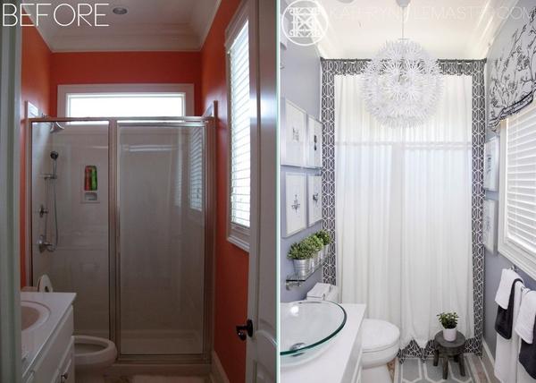 Ngắm 7 phòng tắm đẹp ngây ngất sau cải tạo 4