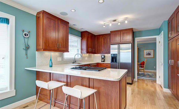 Mẹo đơn giản giúp căn bếp nhỏ trở nên rộng rãi hơn 3