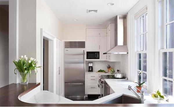 Mẹo đơn giản giúp căn bếp nhỏ trở nên rộng rãi hơn 1