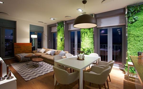 """Độc đáo căn hộ có 3 """"mảnh vườn""""... trên tường 6"""