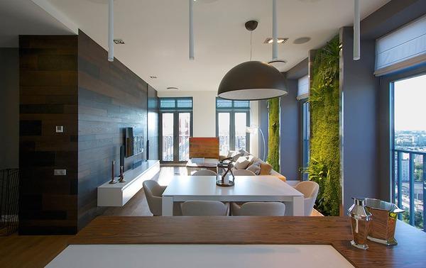 """Độc đáo căn hộ có 3 """"mảnh vườn""""... trên tường 4"""