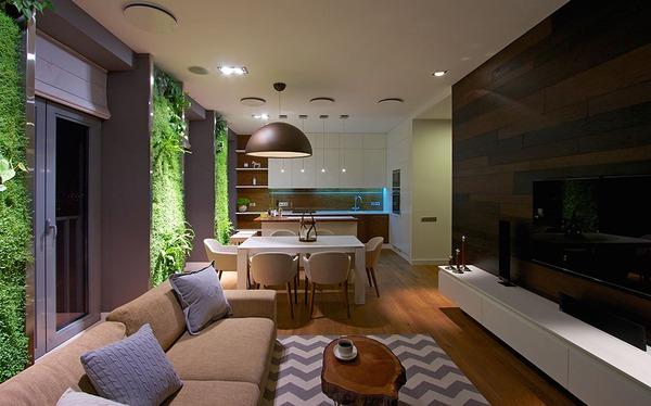 """Độc đáo căn hộ có 3 """"mảnh vườn""""... trên tường 8"""