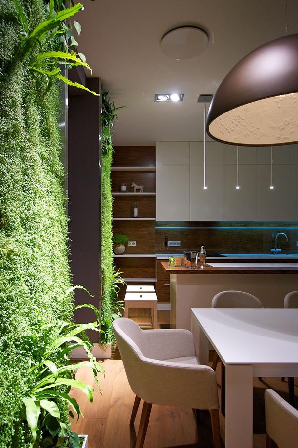"""Độc đáo căn hộ có 3 """"mảnh vườn""""... trên tường 7"""