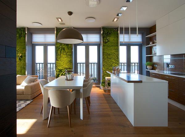 """Độc đáo căn hộ có 3 """"mảnh vườn""""... trên tường 3"""