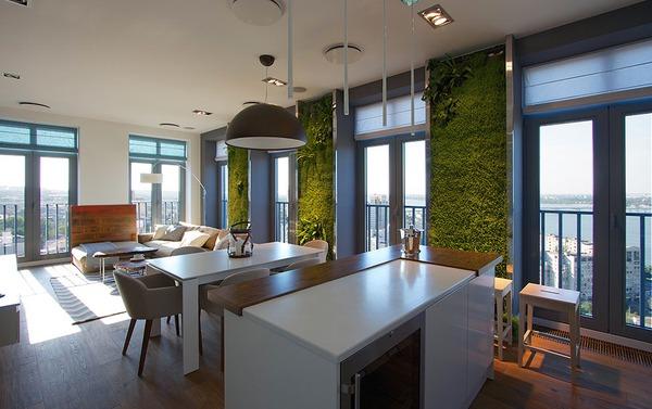 """Độc đáo căn hộ có 3 """"mảnh vườn""""... trên tường 2"""