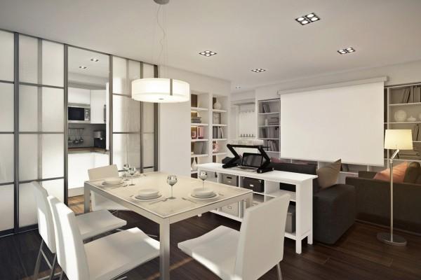 Ngắm căn hộ 45m² đẹp sang trọng với gam màu nâu - trắng 4