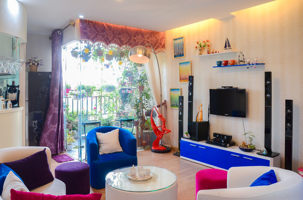 Ngắm căn hộ có góc vườn truyền cảm hứng cho cả khu chung cư ở Hà Nội 2