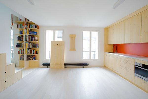 Những bất ngờ thú vị bên trong căn hộ siêu nhỏ 32m² 3
