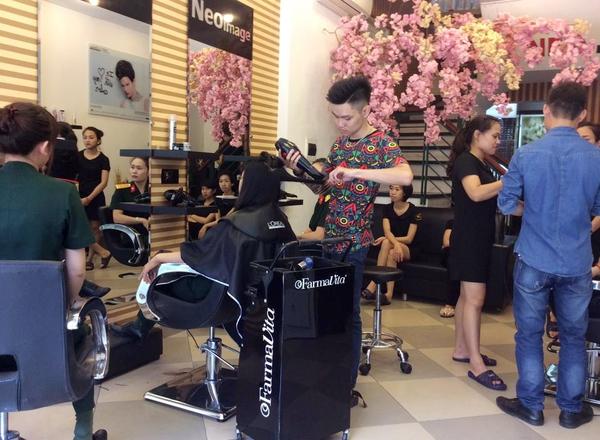5 địa chỉ làm tóc đẹp có tiếng tại Hà Nội dành cho chị em 5