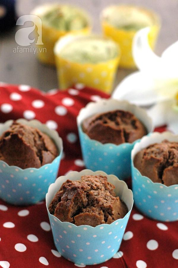 Sáng cuối tuần mời cả nhà bánh Muffin chocolate thơm phức nhé! 17