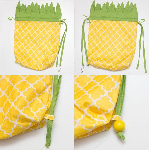 Túi hình quả dứa