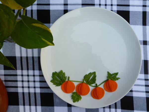 Trang trí đĩa ăn