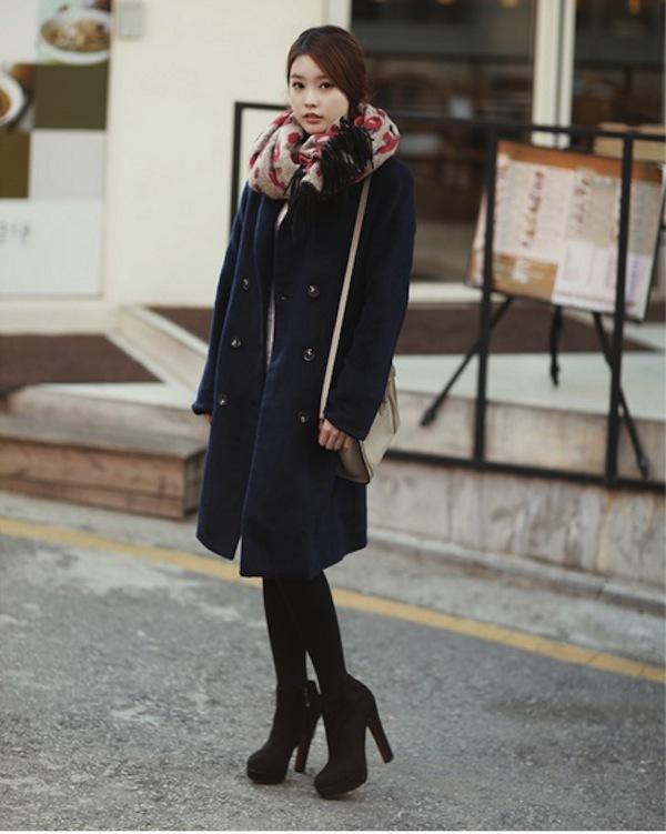 4 phong cách phối đồ cùng áo khoác dạ ấm áp 8