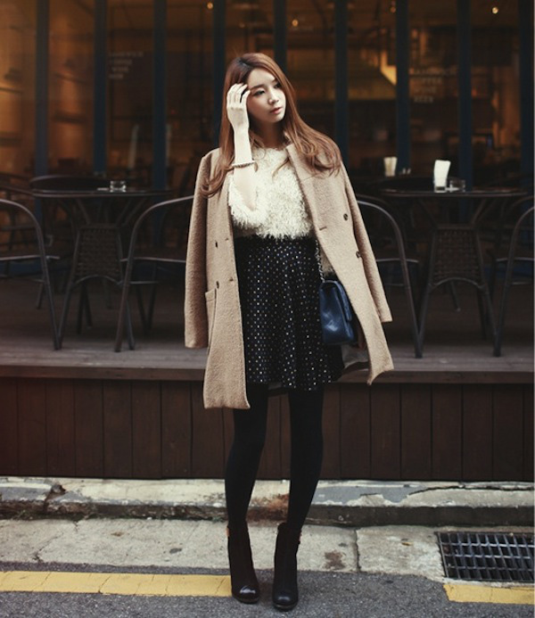 4 phong cách phối đồ cùng áo khoác dạ ấm áp 9
