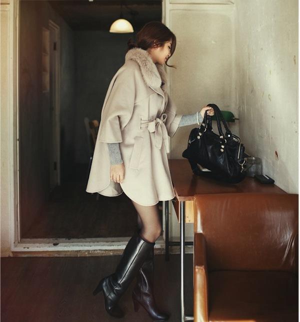 4 phong cách phối đồ cùng áo khoác dạ ấm áp 16