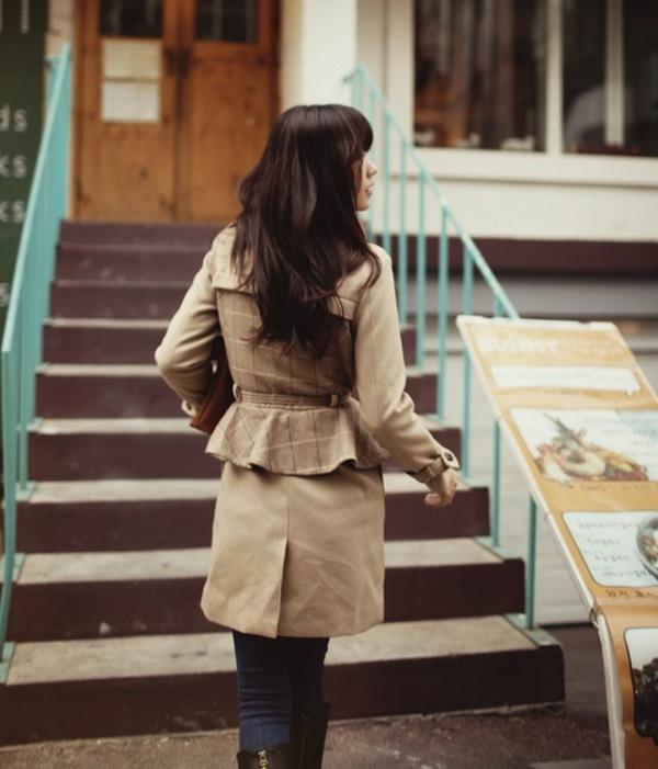 4 phong cách phối đồ cùng áo khoác dạ ấm áp 20