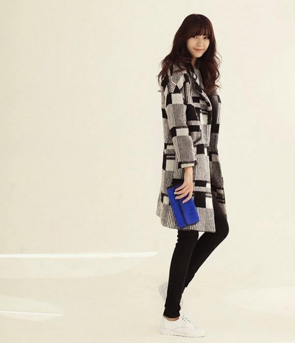 4 phong cách phối đồ cùng áo khoác dạ ấm áp 23