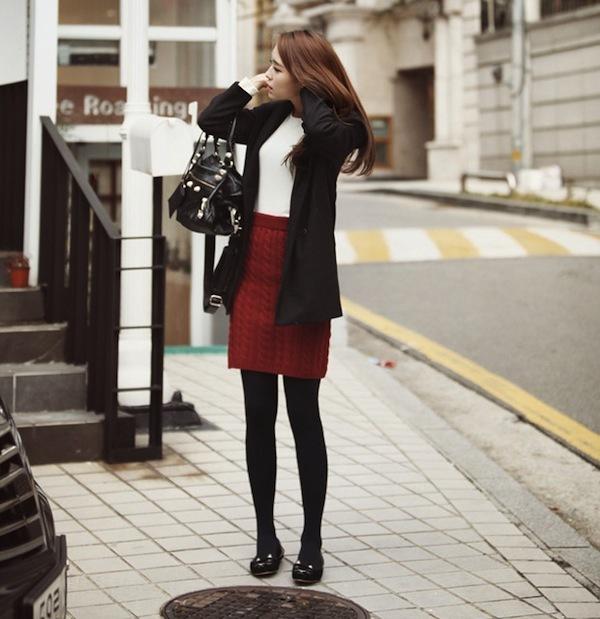4 phong cách phối đồ cùng áo khoác dạ ấm áp 26