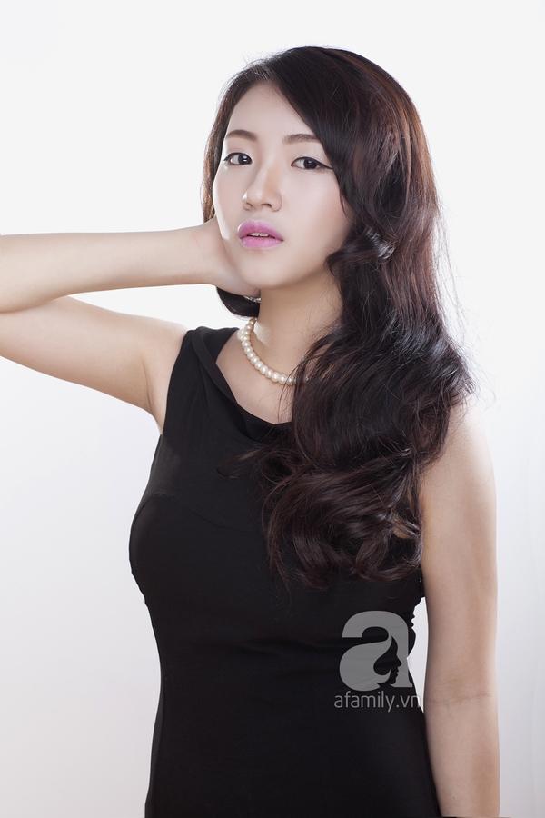 Học phong cách trang điểm môi hồng, lông mày nâu của Yoon Eun Hye 9