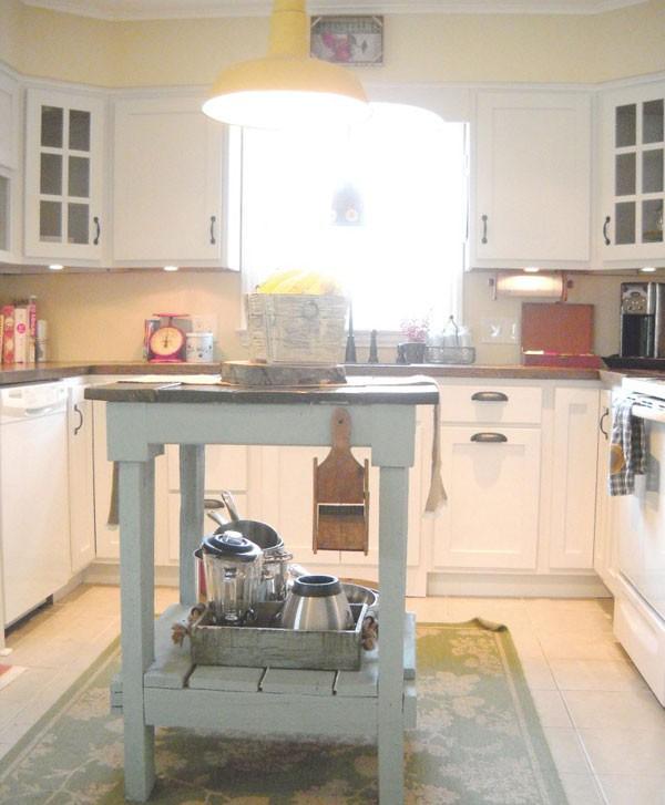 """Ngắm nhà bếp cũ kỹ trở nên tươi mới sau khi """"lột xác"""" 7"""