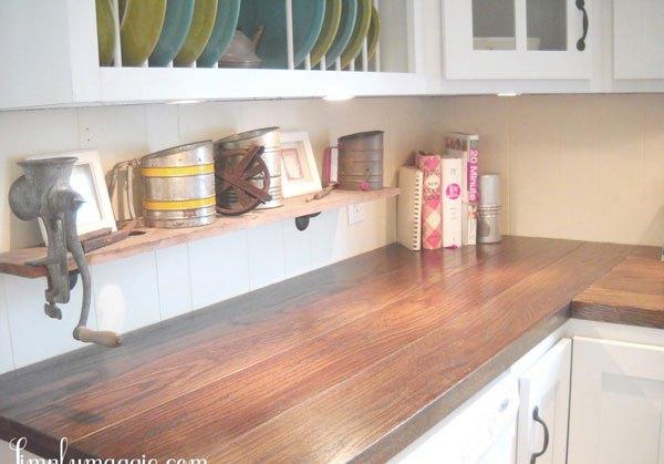 """Ngắm nhà bếp cũ kỹ trở nên tươi mới sau khi """"lột xác"""" 9"""