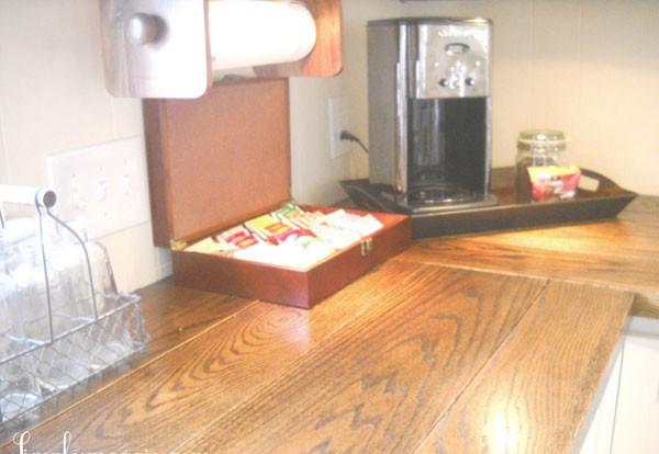 """Ngắm nhà bếp cũ kỹ trở nên tươi mới sau khi """"lột xác"""" 12"""