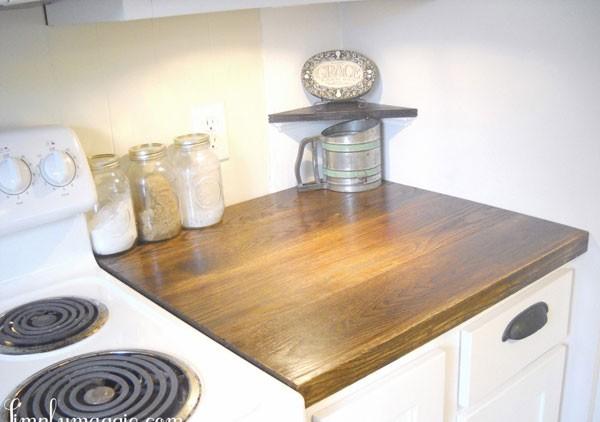 """Ngắm nhà bếp cũ kỹ trở nên tươi mới sau khi """"lột xác"""" 13"""