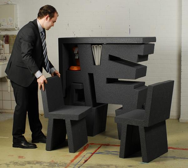 """Kinh ngạc với 2 thiết kế bàn làm việc """"đa zi năng"""" 4"""