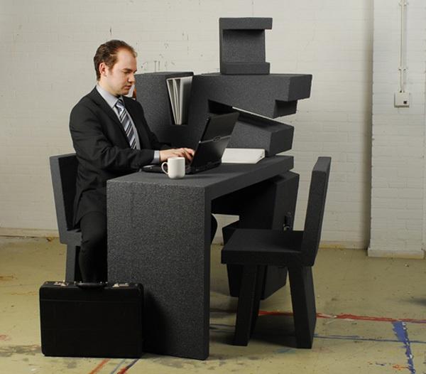 """Kinh ngạc với 2 thiết kế bàn làm việc """"đa zi năng"""" 7"""