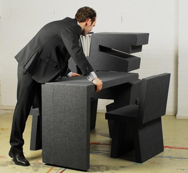 """Kinh ngạc với 2 thiết kế bàn làm việc """"đa zi năng"""" 5"""