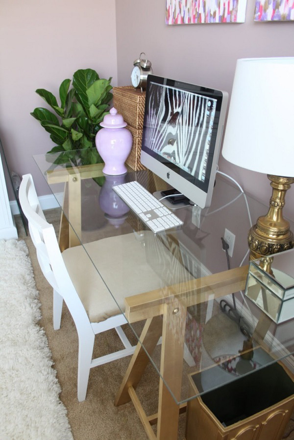 Thêm cảm hứng sáng tạo với bàn làm việc duyên dáng từ gỗ cũ 3